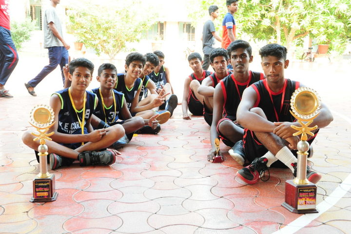 K E Carmel School-Sports