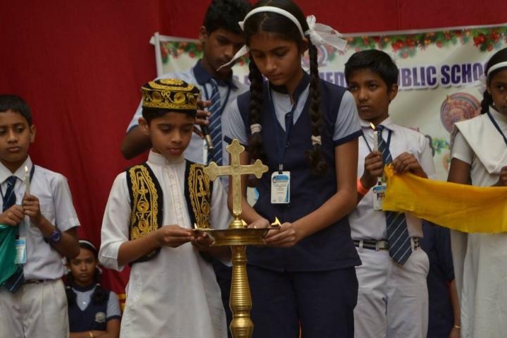 St Annes English Medium Public School-Puja