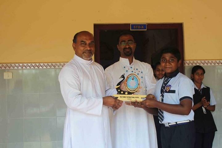 Holy Family International School-Prize