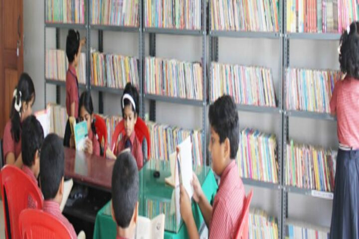 Chavara International Academy-Library