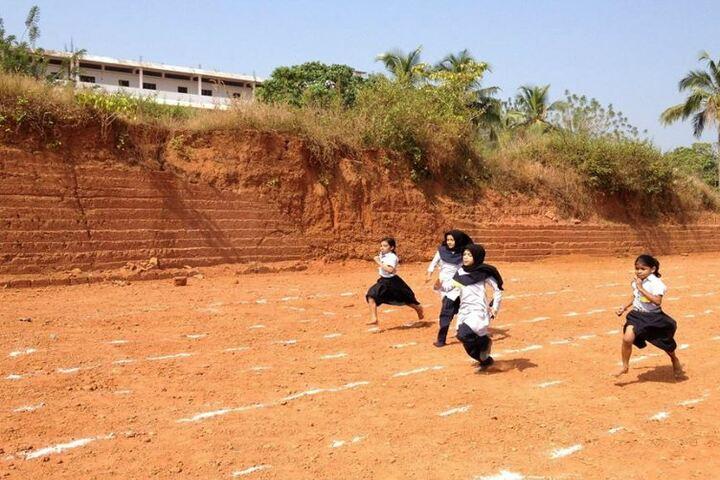 I C E T Public School-Running Competition