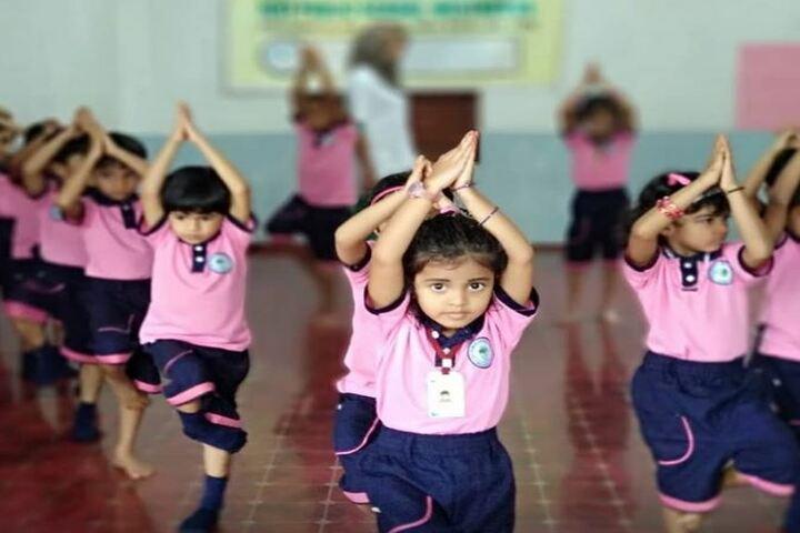 I C E T Public School-Yoga