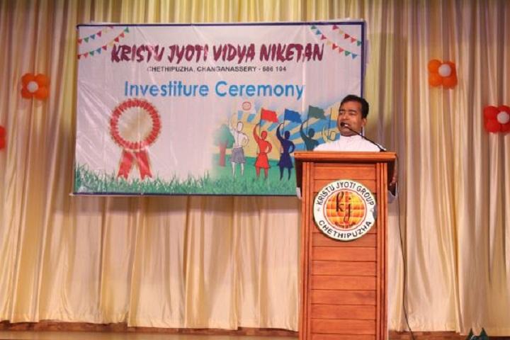 Kristu Jyoti Vidya Niketan-Speech