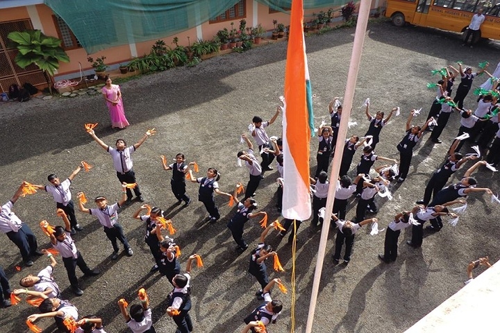 Nirmal Hrudaya E M School-Independence Day