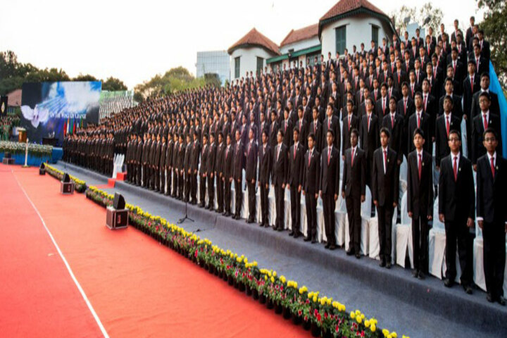 Bishop Cotton Boys School-Morning Assembly