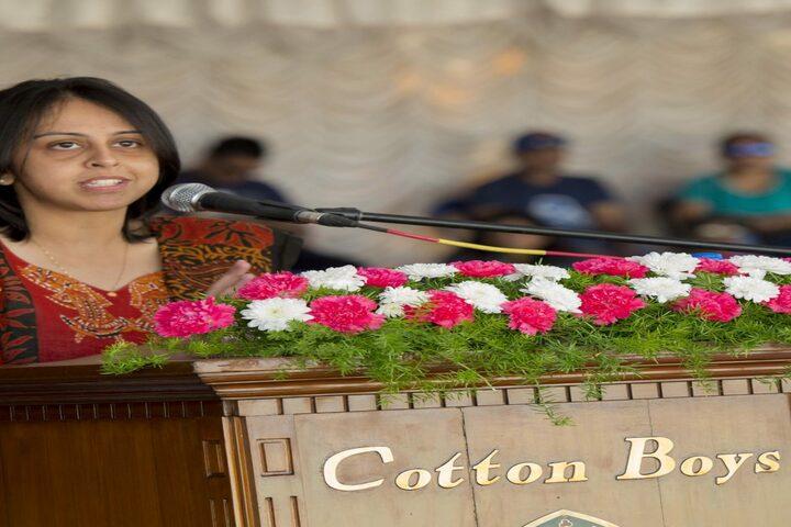 Bishop Cotton Boys School-Speech