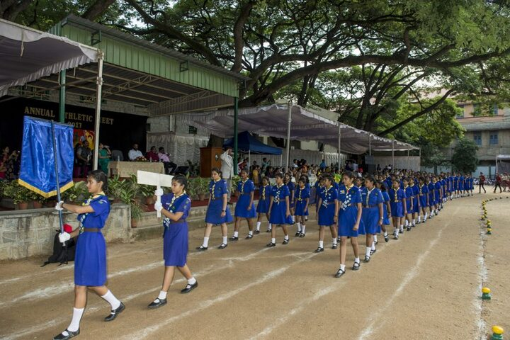 Bishop Cotton Girls School-Scouts And Guide
