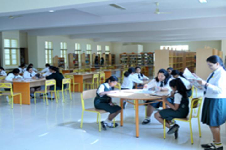 Bishop Cotton Girls School-Senior Library