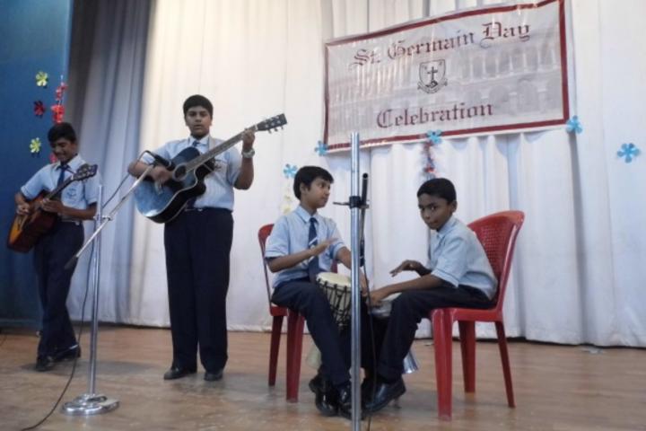 St Germain High School-Music