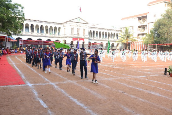 St Germain High School-NCC