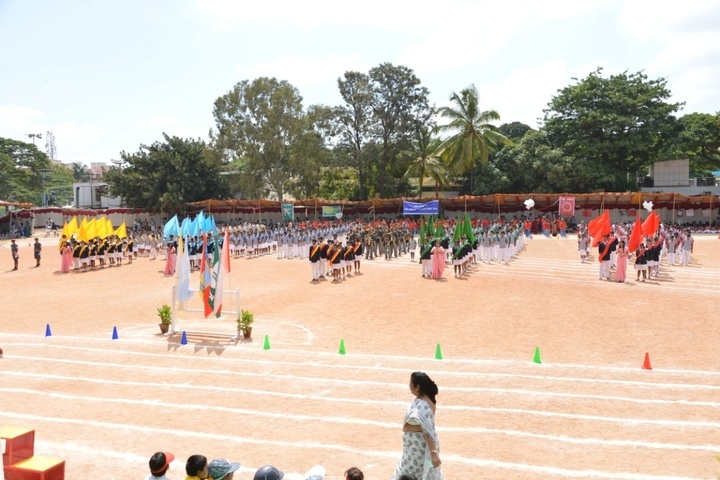 St Johns  High School-Annual Sports Day