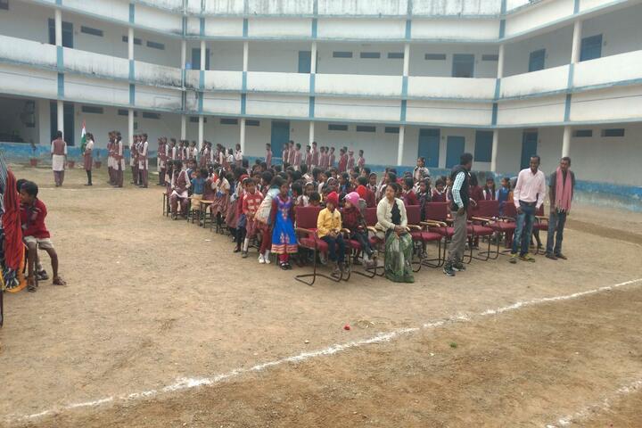 DAV Mukhyamantri Public School-Assembly