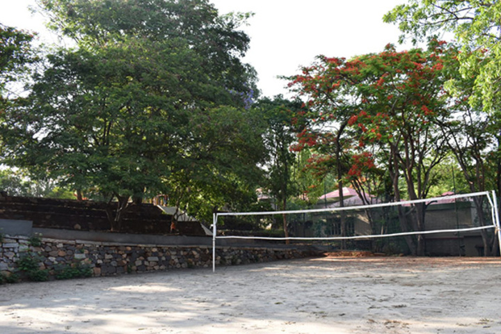 The Valley School-volleyball court