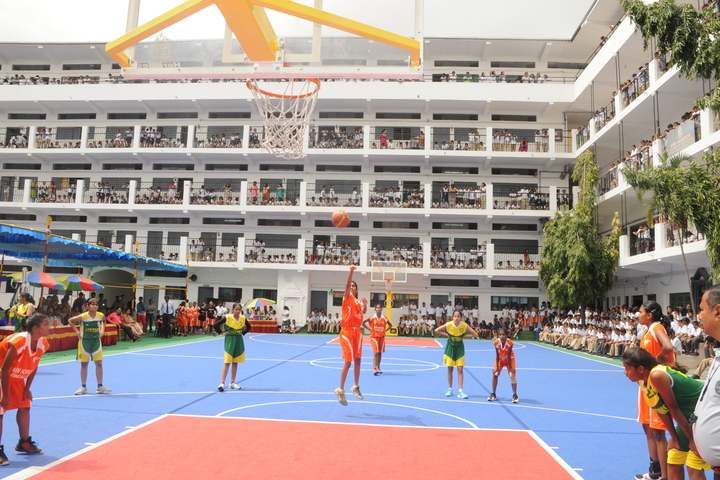 New Horizon Public School-Basket Ball Court