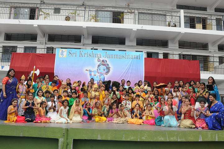 New Horizon Public School-Janamastimi Celebrations