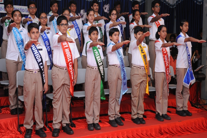 St Pauls English School-Investiture Ceremony