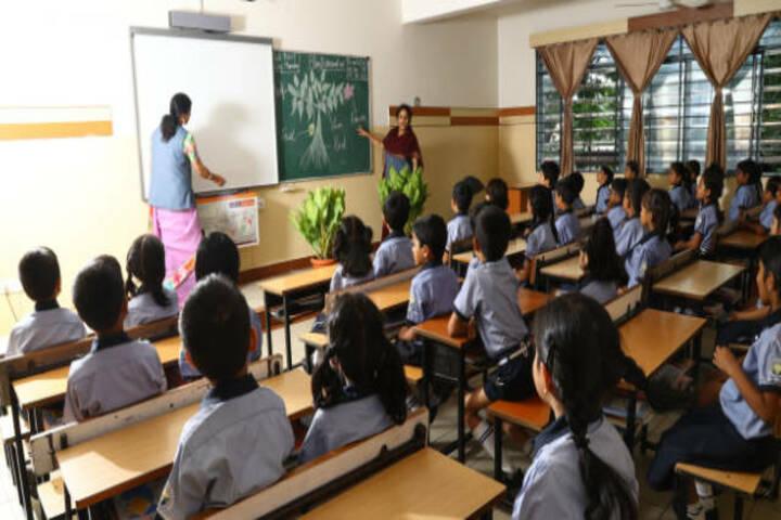 Little Flower Public School-Classroom