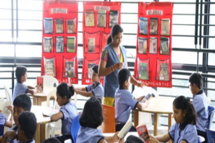 Little Flower Public School-Library
