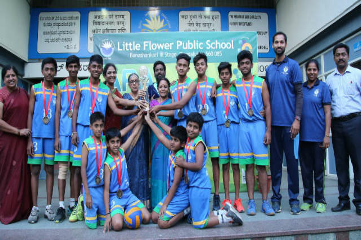 Little Flower Public School-Prize Distribution