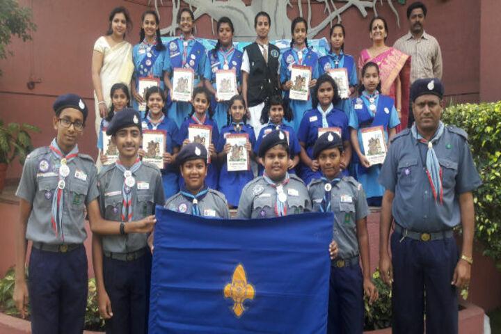Little Flower Public School-Scouts and Guide