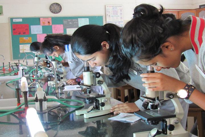 Vidya Niketan School-Biology Lab