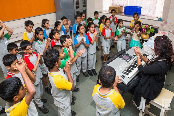 Vidya Niketan School-Music Room