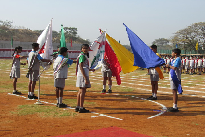 Vidya Niketan School-Sports Day