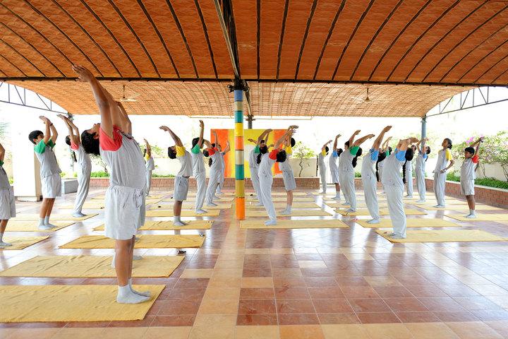 Vidya Niketan School-Yoga