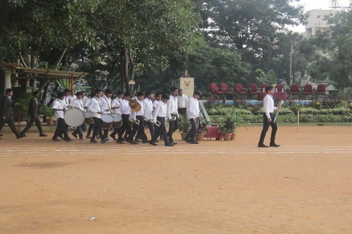 Vivekananda Educational Centre-Band Troop
