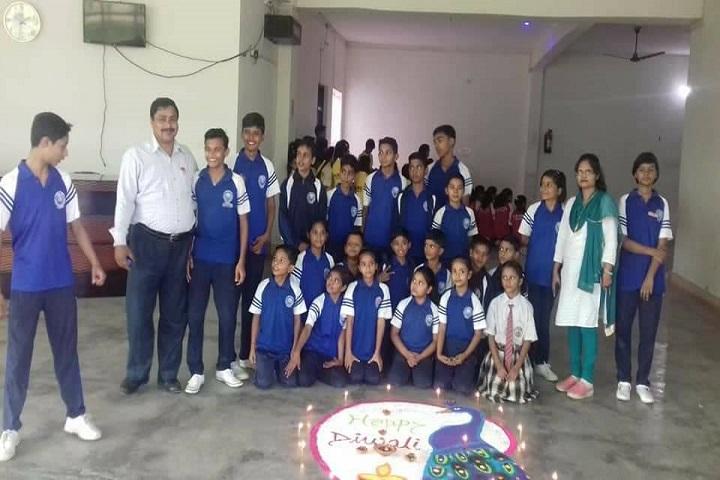 Dalimss Sunbeam School-Diwali Celebration