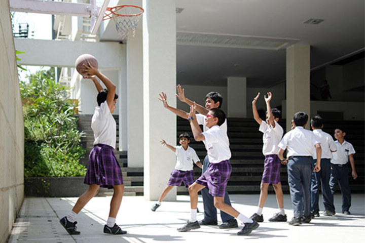 Ekya School-Basket Ball Court