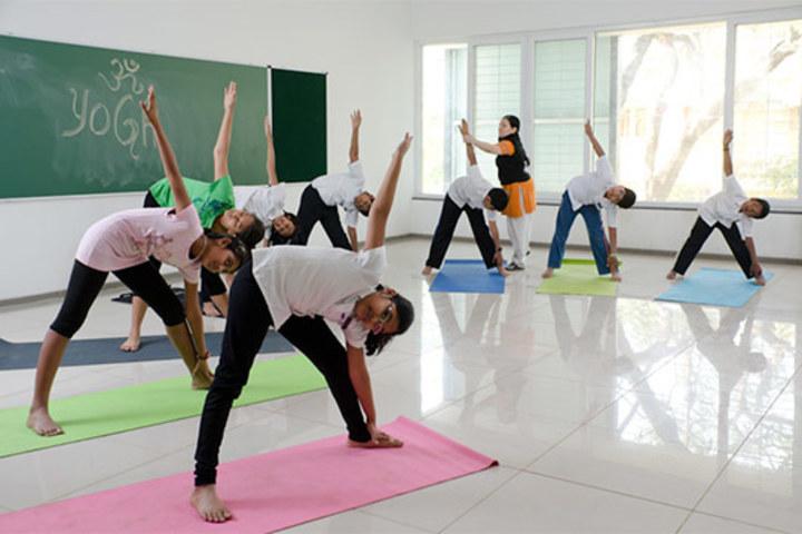 Ekya School-Yoga Activity