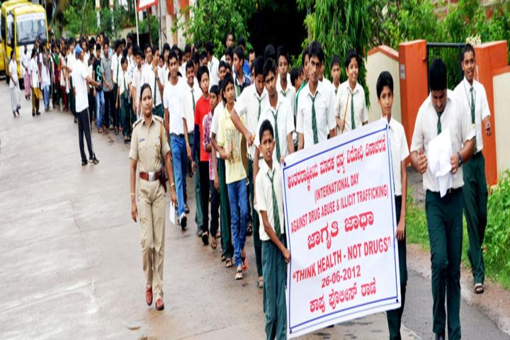 Vidyaniketan Public School-Rally