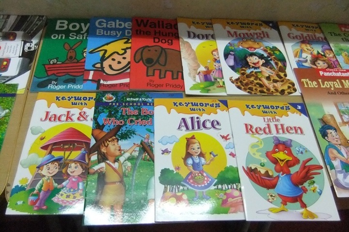 Dayananda Sagar International School-Books Exhibition