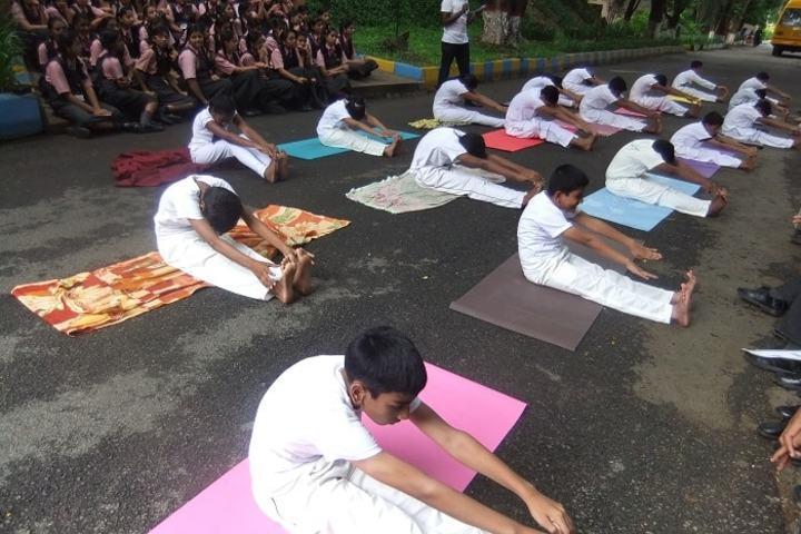 Dayananda Sagar International School-Yoga