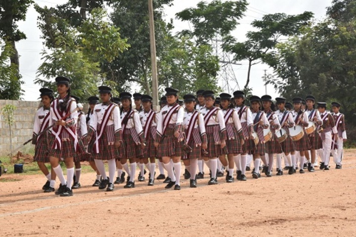 Acharya Vidya Kula-Band Troop