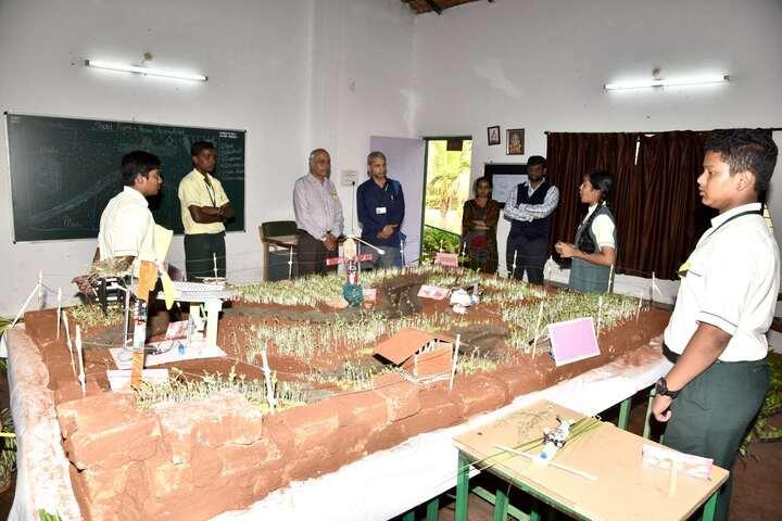 Acharya Vidya Kula-Science Exhibition