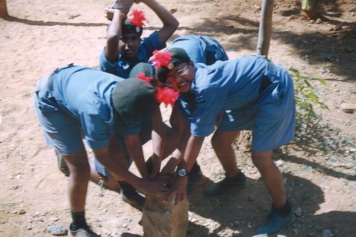 Sri Vani Public School-Scouts and Guide