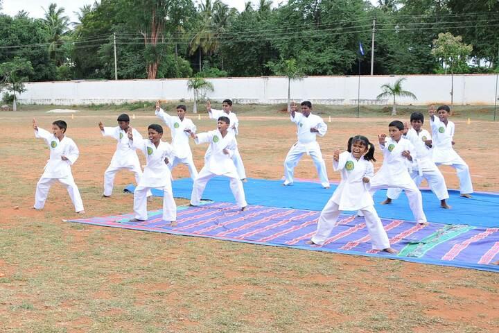 Mysore Public School-Karate