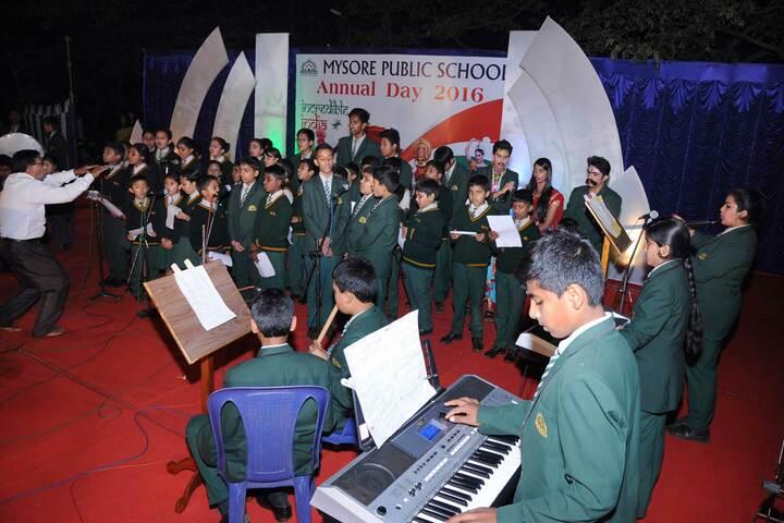 Mysore Public School-Singing