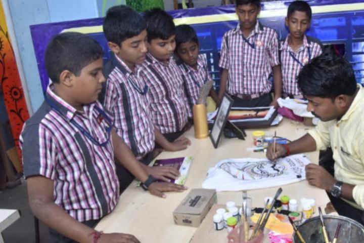 Sri Siddhi Vinayaka Residential School-Art Class