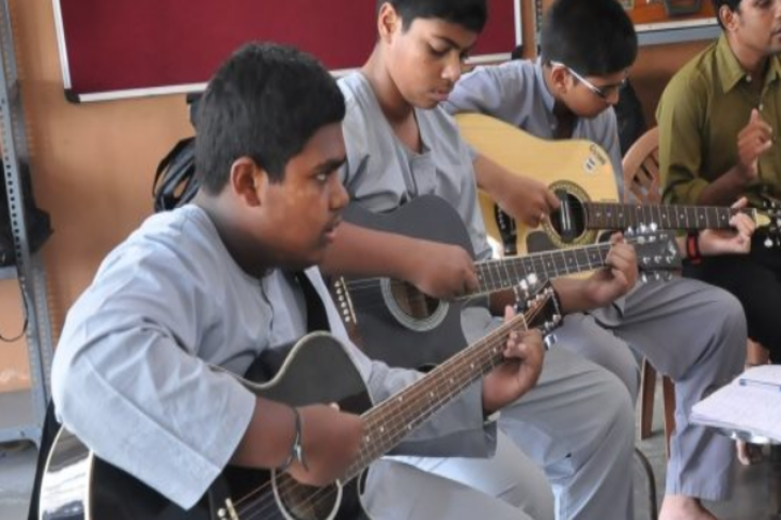 Sri Siddhi Vinayaka Residential School-Music Room