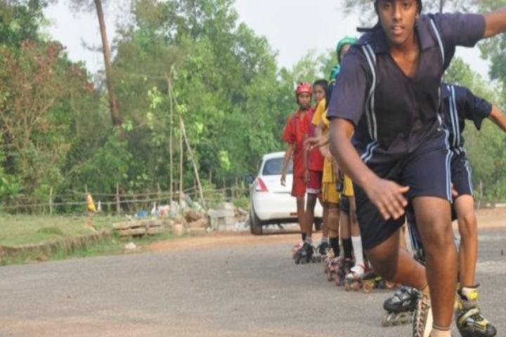 Sri Siddhi Vinayaka Residential School-Skating