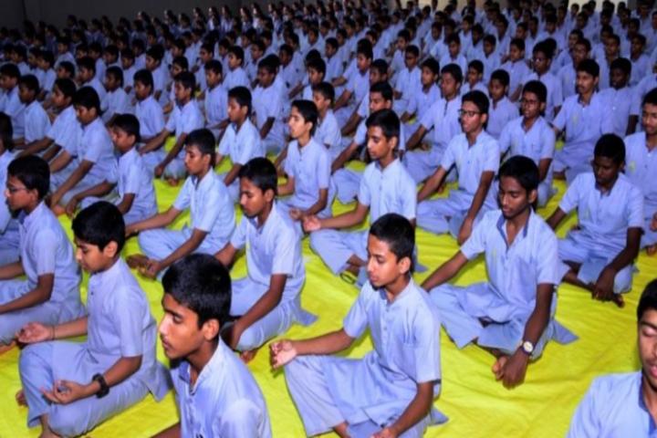 Sri Siddhi Vinayaka Residential School-Yoga