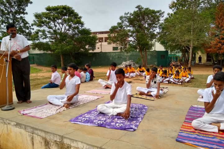 Bishop Sargant School-Yoga Day