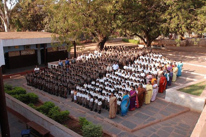 Sandur Residential School-Assembly