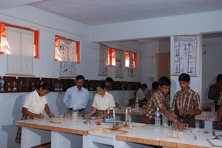 Sandur Residential School-Chemistry Lab