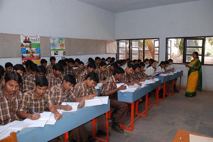 Sandur Residential School-Classroom