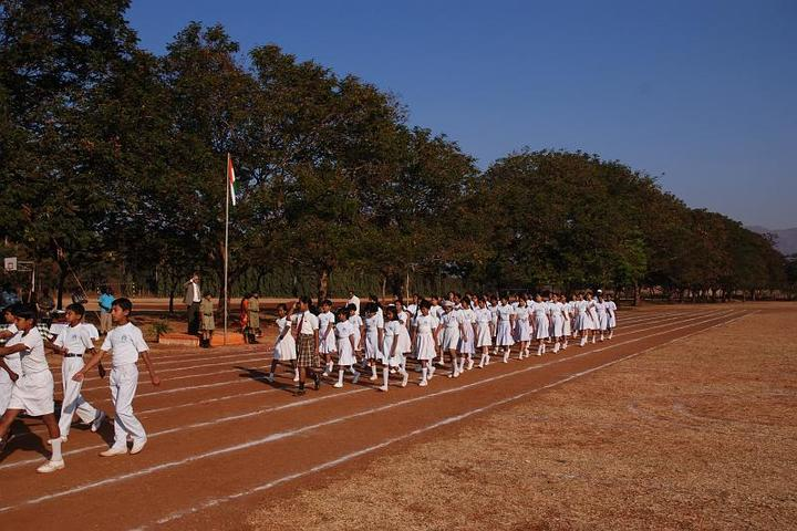 Sandur Residential School-Independence Day
