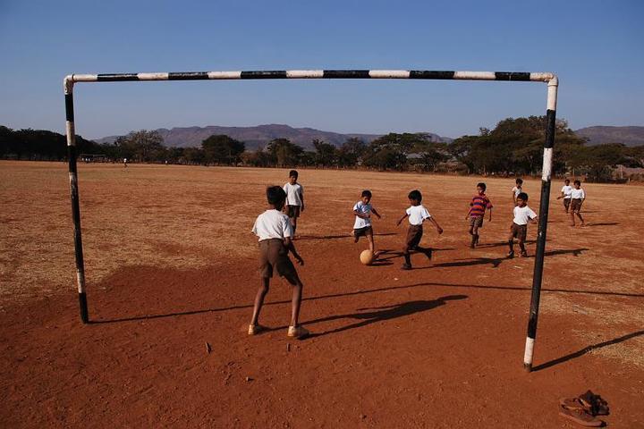 Sandur Residential School-Playground